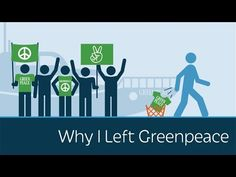 Co-founder of Greenpeace on why he left [He's a little dry, but his video was still very interesting.]