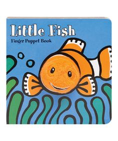 Another great find on #zulily! Little Fish Finger Puppet Board Book #zulilyfinds