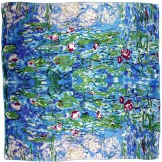 100% Luxurious Charmeuse Silk Claude Monet's « Clothing Impulse