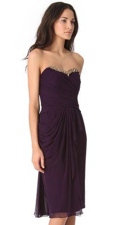 Notte by Marchesa Cascade Strapless Dress | SHOPBOP