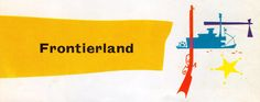All sizes | 1957 Frontierland - logo | Flickr - Photo Sharing!