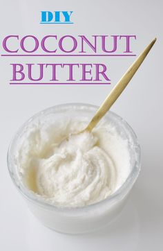DIY Coconut Butter. All you need is 10 minutes and 1 single Ingredient. This version is cheap, easy, and fast, Such a healthy addictive spread and topping for nearly everything :) Vegan, Gluten free, and Paleo Recipe