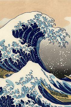 Kanagawa, The wave
