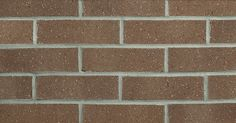 Chateau Brown by Glen-Gery brick is a brown extruded facebrick from the Iberia Plant #brick #glengery #brickhome #brownbrick