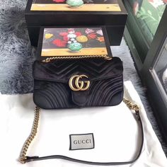 1d160f391803 Gucci GG Marmont Velvet Shoulder Bag  fashion  clothing  shoes  accessories   womensbagshandbags (ebay link). Zoe Noriega · Women s Bags   Handbags