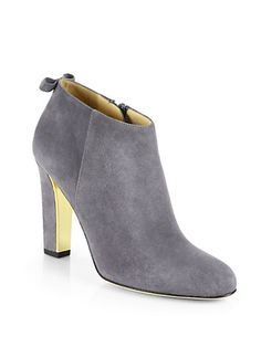 Kate Spade New York - Netta Suede Ankle Boots - Saks.com