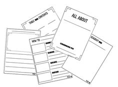 All About Booklet FREEBIE