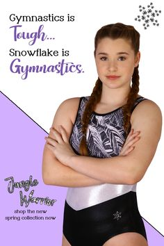 Snowflake Designs has been creating cute and unique gymnastic leotards for girls and boys, competition leotards, and gymnastics clothes for over 35 years. Our leotards are known for their great fit (no more leotard wedgies!), high-quality construction, custom fabrics, and unique designs. We design workout leotards, competition leotards, warm-up suits, and other custom athletic clothing for recreational and competitive gymnasts. Amazing Gymnastics, Olympic Gymnastics, Gymnastics Clothes, Gymnastics Leotards, Funny Ads, Funny Memes, Flexible Girls, Young Girl Fashion, Girls Leotards