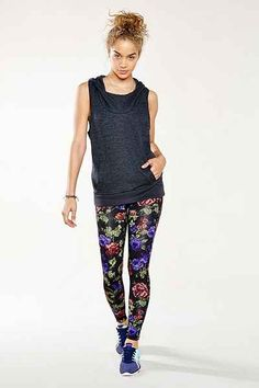 Without Walls Radiant Roses Legging - Urban Outfitters for running, how princess punk. Gym Style, Just Run, Athletic Wear, What I Wore, Fun Workouts, Lounge Wear, Urban Outfitters, Active Wear, Fitness Models