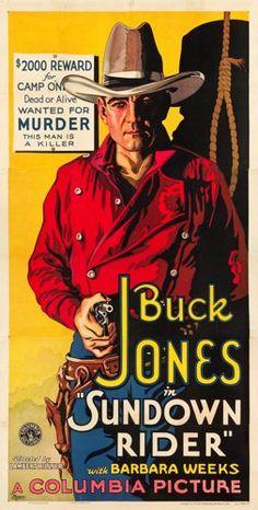 "Movie Posters:Western, Sundown Rider (Columbia, 1932). Three Sheet (41"" X 80.75"").. ..."