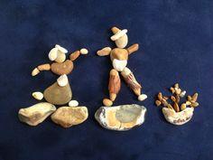 Dıy pebble art (gülen)