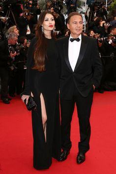 Cannes Day 8: The Bessons - her hair colour