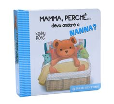 In Mamma, Perche' Devo Andare a Nanna?  (Mamma, why must I go to sleep?) Teddy Bear (Orsetto Teddy) has so many reasons for bedtime:  You're sleepy (stanco) and you've had your little bath (bagnetto).  It's dark (buio) e la luna splende in cielo con le stelle.  Best of all, your little bed (lettino) awaits you with its soft sheets (lenzuola) and puffy quilt (piumino)!  Ahh.  Little ones will begin to yawn as their eyelids droop.  (Maybe Mamma's too!) Rhyming text is entirely in Italian.