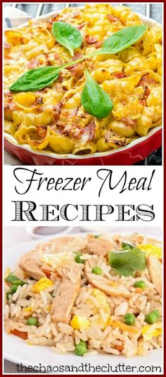 Stock your freezer with ready-made meals using these tasty recipes.
