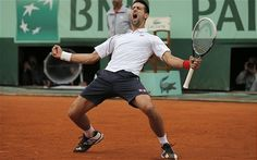 French Open 2012: Novak Djokovic reaches semi-finals with thrilling victory over Jo-Wilfried Tsonga - Telegraph