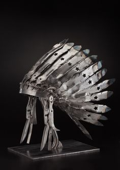 Lawnmower Blade Headdress