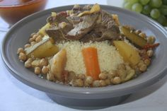 My grand father is from Algeria, and his coucous is simply awesome. I've been trying for a long time to achieve the same results, but in vain. This recipe has been the closest I have came to it. VERY TASTY, even known something is missing!