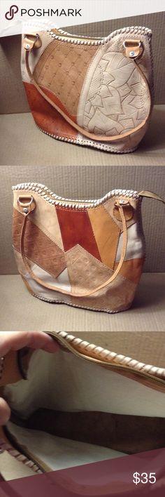 HANDBAG Leather Hangbag. Bags Shoulder Bags