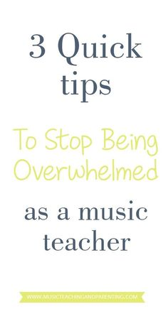 Music teaching ideas to consider when keeping in mind your personal time and preventing music teacher burnout. Developing any music program is so involved that things can easily get out of hand if not careful.: