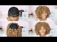 Watch Me Crochet Braid My Hair|ChimereNicole - YouTube