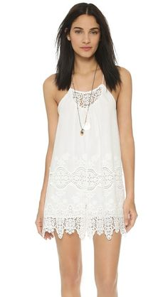 Nightcap Clothing Embroidered Romper
