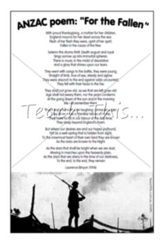 For the Fallen :: Teacher Resources and Classroom Games Anzac Day, Classroom Games, Teacher Resources, Poppy, Army, Teaching, Activities, Fall, Crafts