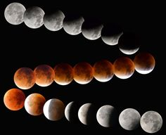 Sky-watchers around the world are in for a treat Sunday night and Monday when   the shadow of Earth casts a reddish glow on the moon, the result of rare   combination of an eclipse with the closest full moon of the year