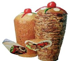 Doner Kebabs. Always a messy meal but one of the BEST foods ever!