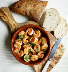 Pil Pil Prawn Shrimp with Garlic and Chilli