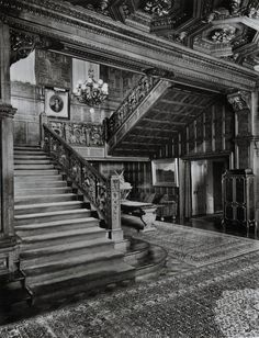 Carnegie Mansion grand staircase