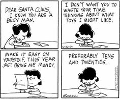 Peanuts Dec 20, 1962