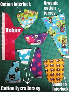 fabrics all by kitschycoo, via Flickr