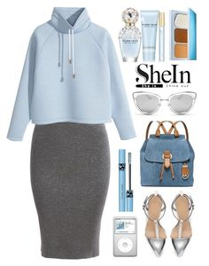 """""""sheIn"""" by itsybitsy62 ❤ liked on Polyvore featuring MICHAEL Michael Kors, Marc Jacobs, H&M, Estée Lauder and Butter London"""