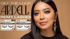 Ardell Remy Lashes 778  Βλεφαρίδα από 100% ανθρώπινη τρίχα & εμποτισμένη με κερατίνη - έχει το γύρισμα του lash lift. Έχει πολύ λεπτή τρέσσα και είναι εύκολη στην εφαρμογή. Get The Look, Lashes, Make Up, Eyelashes, Makeup, Beauty Makeup, Bronzer Makeup, Eye Brows