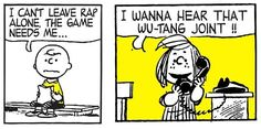 """Charlie Brown Goes Hip-Hop for """"Deez Nuts"""" by Mark Drew"""