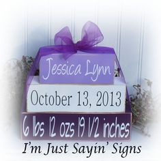 Hey, I found this really awesome Etsy listing at https://www.etsy.com/listing/168579936/custom-baby-name-wood-stacking-blocks