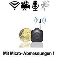 Videoüberwachung mit der kleinsten Funk-Kamera bei www.abhoergeraete.com Videos