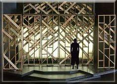 The Laramie Project - Set Design by Richard Finkelstein, Stage Designer