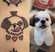 South Korean artist Jiran creates ink inspired by his clients' beloved furry friends.