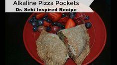 Alkaline Pizza Pockets / Dr Sebi Inspired Recipe