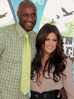 Khloe Kardashian-Odom and Lamar Odom.
