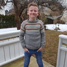 Sjekk DE tøffe fargene til Oskargenser - Knitting Inna Boys Sweaters, Men Sweater, Christmas Sweaters, Knitting, Fashion, Velvet, Moda, Tricot, Fashion Styles