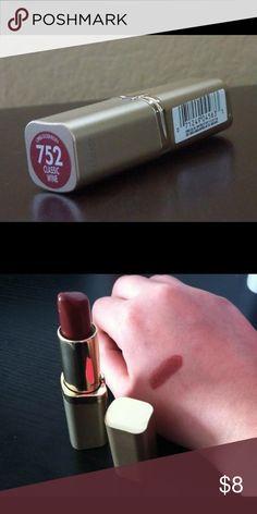 Loreal 752 classic wine New Loreal Makeup Lipstick