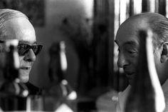 Vinicius de Moraes and Pablo Neruda