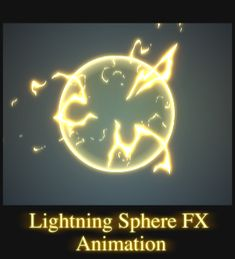 Lightning Sphere FX Animation. by AlexRedfish.deviantart.com on @deviantART