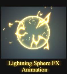 Lightning Sphere FX Animation. by AlexRedfish.deviantart.com on @DeviantArt