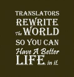 Let's rewrite the world!