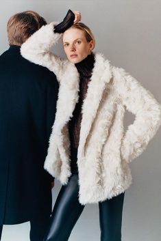 Keep your outerwear on-point with the Clairene Faux Fur Coat. Best Winter Coats, Winter Coats Women, Coats For Women, Faux Fur Jacket, Fur Coat, Cold Day, Long Sleeve, Sleeves, Model