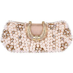 MG Collection Gold Pearl Beads Rhinestone Encrusted Clutch Evening Hand Bag MG Collection, HANDBAGS if you wish to buy just CLICK on AMAZON right HERE http://www.amazon.com/dp/B009R77WH6/ref=cm_sw_r_pi_dp_X.lXsb1T0CPY95GB