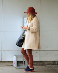 Elizabeth Olsen's street style